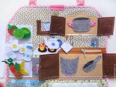 Кукольный дом ручной работы. Кукольный дом - Кухня (Часть 2). Раевская Юлия (YuliyaRA). Ярмарка Мастеров. Для девочек