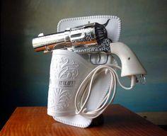 357 Magnum secador de pelo!,