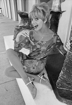Some inspiration from Goldie Hawn