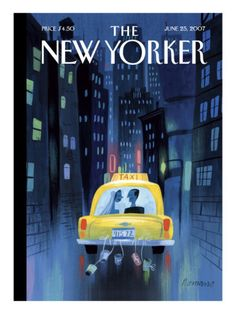 The New Yorker Cover - June 25, 2007 Poster Print  by Lou Romano at the Condé Nast Collection