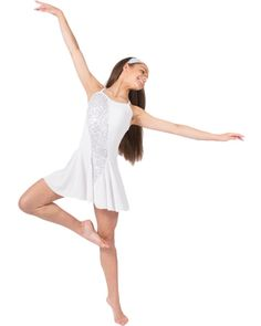 Sway With Me White Dance Costume