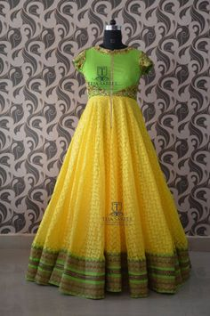 Long Gown Dress, Dress Me Up, Long Dresses, Ethnic Outfits, Indian Outfits, Ethnic Clothes, Kids Gown Design, Anarkali Dress, Anarkali Suits