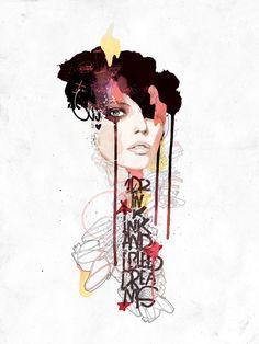 2011 by Raphael Vicenzi, via Behance . art . illustration . digital art
