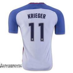 71974a33d Best Home Ali Krieger Men s Jersey Authentic Soccer