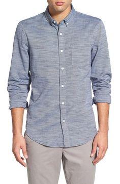 1901 'Benson' Trim Fit Long Sleeve Woven Shirt