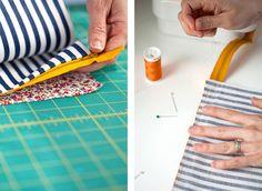 DIY: Mini Boxy Makeup Bag   Say Yes to Hoboken