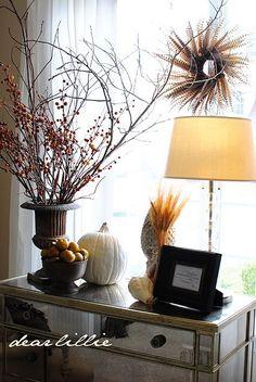 October :: 31 Ways to Decorate with Pumpkins