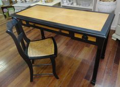 Custom Furniture refinishing. The Beauty of Black. https://www.facebook.com/AVintageWren