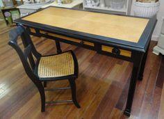 Custom Furniture refinishing. The Beauty of Black. https://www.facebook.com/AVintageWren