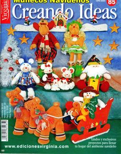 Revistas de manualidades Gratis: revista muñecos navideños gratis