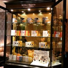 New @millerharris display cabinet in our lobby. Spring is in the air.