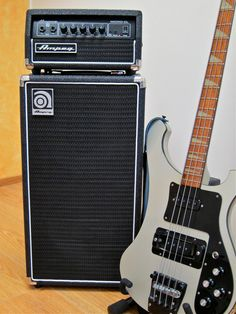 Ampeg Micro-CL & Rickenbacker 4003