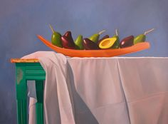 Aguacates Oil on canvas 48 x 62 in 2006