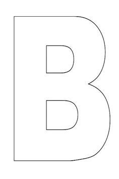 letter b template 1000 images about pre k quot b quot on letter b 37559