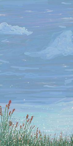 Soft Wallpaper, Flower Phone Wallpaper, Watercolor Wallpaper, Anime Scenery Wallpaper, Iphone Background Wallpaper, Painting Wallpaper, Aesthetic Pastel Wallpaper, Kawaii Wallpaper, Cartoon Wallpaper