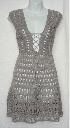 Beautiful crochet dress graphics | Crochet patterns free
