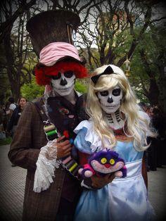 Horror Alice in Wonderland | Zombie Alice in Wonderland by Elainn