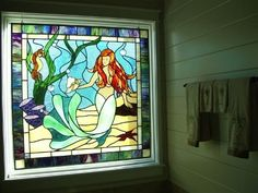 Master Bath Mermaid over Tub