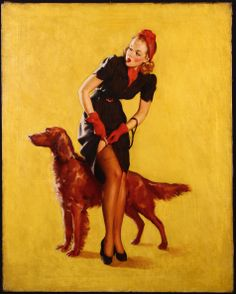 Gil Elvgren, A Hitch in Time