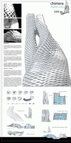 Architecture and Design Magazine for the Century. Organizer of the Annual Skyscraper Architectural Competition. Plans Architecture, Parametric Architecture, Architecture Magazines, Parametric Design, Futuristic Architecture, Concept Architecture, Architecture Design, Architecture Geometric, Architecture Models