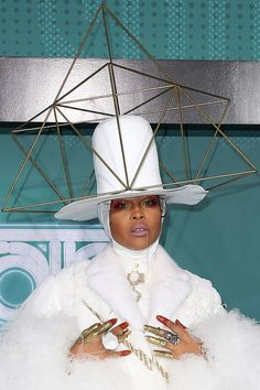 Erykah Badu at the 2017 Soul Train Awards at the Orleans Arena in Las Vegas, Nevada, on November 5, 2017.