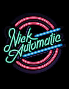 some random graphics I made for Nick Automatic circa Flamingo Logo, School Shirt Designs, Neon Logo, Neon Design, Weird Words, Neon Aesthetic, Logo Restaurant, Badge Design, Text Style
