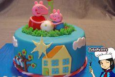 Original idea para comida de una fiesta temática de Peppa Pig. #Peppapig #party