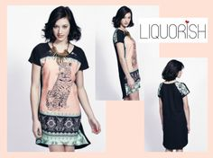 Liquorish Tiger Mirror Dress, half price now at: https://www.liquorishonline.com/liquorish-tiger-mirror-dress-3965.html