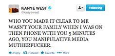 Kanye West Went On An All-Caps Twitter Rampage Against Jimmy Kimmel And This Is Why