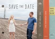 Story Book Wedding Save the Date Minibook™ C... | Minted