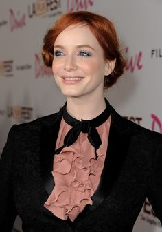 The beautiful Christina Hendricks