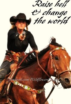 Keeping calm is for city girls. Wildflowers know what it takes. Cowgirl quote. WildflowerCowgirl.com