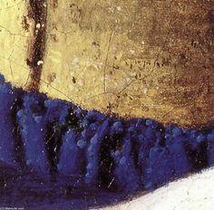The Milkmaid (detail) (5) - (Jan Vermeer)