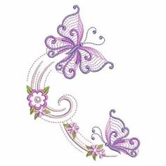 Petals in Flight 10 - 3 Sizes! | What's New | Machine Embroidery Designs | SWAKembroidery.com Ace Points Embroidery