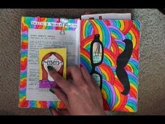 Completed This is Not a Book Flip Through (PART 1) - YouTube