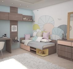Kids bedroom on Behance