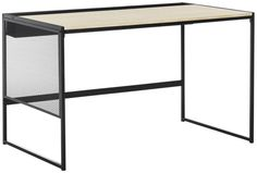 Safavieh Furniture FOX2222A - Designed to reflect the aesthetic of architect Mies van der Rohe, this contemporary desk is the ideal modern workspace. Ideal for the home office, its simp