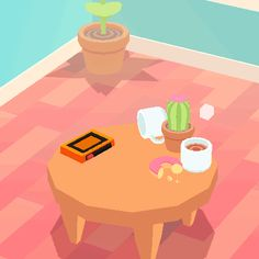 vhsspaceport:  I FIND MYSELF [______]i made a small game about fumbling with some stuff on a small cluttered table[Download Here]  Another cool looking game!