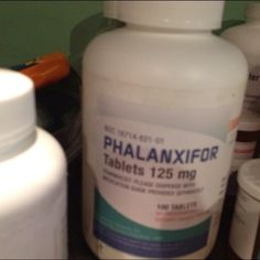 Phalanxifor (Hazels miracle drug) on the set of the TFiOS movie