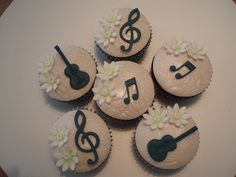 music cupcakes for teachers - Google Search