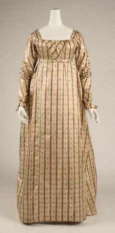 Dress ca. 1800 via The Costume Institute of the Metropolitan Museum of Art