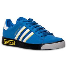 Men's adidas Forest Hills Casual Shoes| FinishLine.com | Royal/Yellow/White