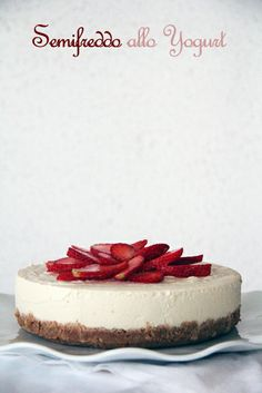 semifreddo di yogurt | Sugarless