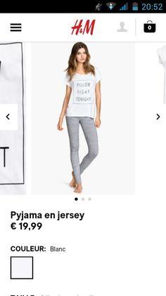 Pyjama en jersey- H&M