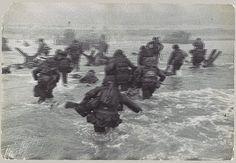 Robert Capa: American Troops Landing on D-Day, Omaha Beach, Normandy Coast (1987.1100.501)   Heilbrunn Timeline of Art History   The Metropolitan Museum of Art