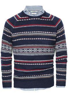 Jersey lana diseño alpino-H.E