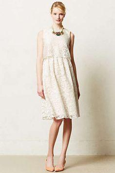 Anthropologie - Magnolia Lace Dress