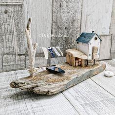 ***Elehandmade*** Креативные идеи и МК Driftwood Wall Art, Driftwood Projects, Driftwood Sculpture, Diy Projects, Driftwood Ideas, Beach Crafts, Diy And Crafts, Wood Creations, Wooden Crafts