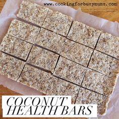 Coconut Health Bars