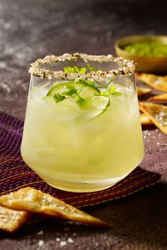 Limoncello Cocktails, Aperitif Cocktails, Summer Cocktails, Cocktail Drinks, Cocktail Recipes, Cocktail Tequila, Tequila Tequila, Authentic Mexican Recipes, Mexican Food Recipes